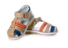 Children's footwear Royalty Free Stock Photo
