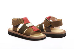 Children's Footwear Royalty Free Stock Photos