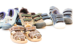 Children's footwear Royalty Free Stock Photos
