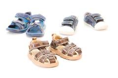 Children's footwear Stock Image