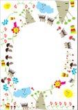 Children's  frame Royalty Free Stock Photo