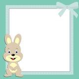 Children's frame Bunny boy Stock Photography