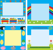 Children's frames Stock Image