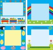 Children's frames Stock Image