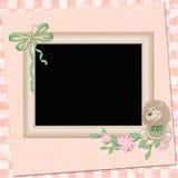 Children's framework  for photo Royalty Free Stock Photo