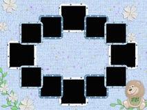 Children's frameworks for a photo Stock Image