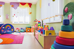 Children's games room. royalty free stock images