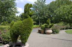 Children's garden in Oregon Garden Stock Photography