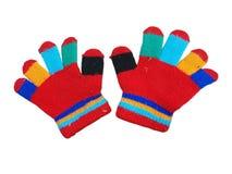 Children`s gloves Stock Images