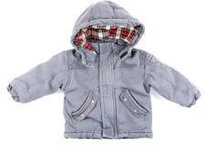 Children's gray jacket Stock Photo