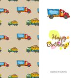 Children's greeting card Stock Images