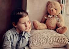 Children's grief Royalty Free Stock Photo