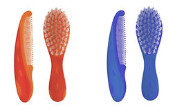 Children's hairbrush Royalty Free Stock Photos
