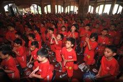 Children's health campaign Stock Image
