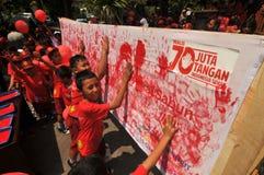 Children's health campaign Stock Photos
