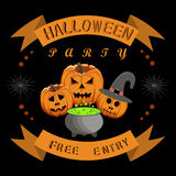 Children`s holiday halloween Royalty Free Stock Image