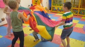 Children`s indoor games.