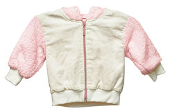 Children's jacket with insulation Royalty Free Stock Photo