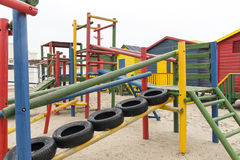 Children's jungle gym Royalty Free Stock Image
