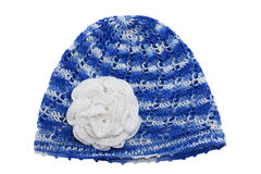 Children's knitted cap Royalty Free Stock Photography