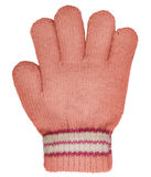 Children's knitted woolen glove Royalty Free Stock Photography
