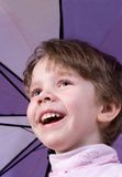 Children's laughter Royalty Free Stock Photo
