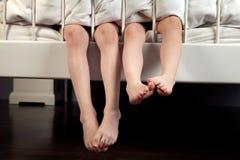 Children's legs  Stock Image