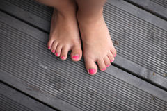 Children`s legs Royalty Free Stock Images