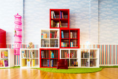 Children's library Royalty Free Stock Images
