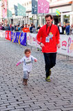 Children's Marathon in Oslo, Norway Stock Photo
