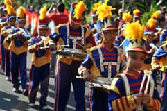 Children's Marching Band Stock Images