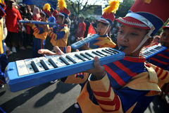 Children's Marching Band Royalty Free Stock Images