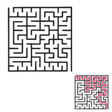 Children`s maze game Stock Images
