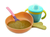 Children's meal Royalty Free Stock Photos