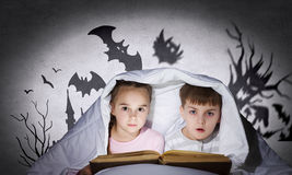Children's nightmares Royalty Free Stock Photos