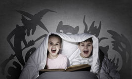 Children's nightmares Royalty Free Stock Photography