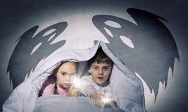 Children's nightmares Royalty Free Stock Image