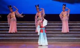 Children's Opera: small Huadan Royalty Free Stock Photos