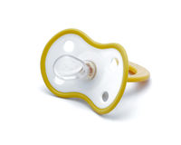 Children's pacifier for the baby. Stock Image