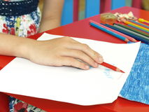 Children's painting Royalty Free Stock Images