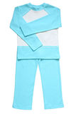 Children's pajamas. Isolated on a white background Royalty Free Stock Photos