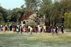 Children`s Park near India Gate, New Delhi Stock Photography