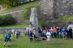 Children's Party at the Akershus Fortress. Oslo. Norway Royalty Free Stock Photography