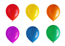 Children's party balloons Stock Images