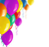 Party colorful balloons Royalty Free Stock Photos