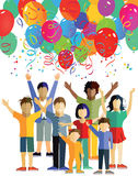 Children's party Stock Images