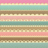 Children`s pastel lace background royalty free illustration