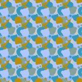 Children's pattern of balls. Seamless pattern of balls. Vector illustration Royalty Free Stock Photo