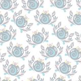Children`s pattern painting. Tender drawing pattern for children Royalty Free Stock Photo