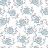 Children`s pattern painting. Tender drawing pattern for children Royalty Free Illustration